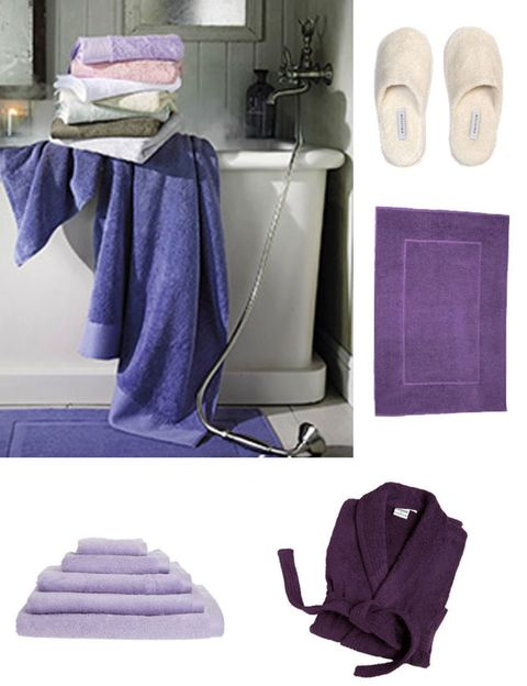 Blue, Product, Textile, Purple, Grey, Lavender, Household supply, Cabinetry, Linens, Pocket,