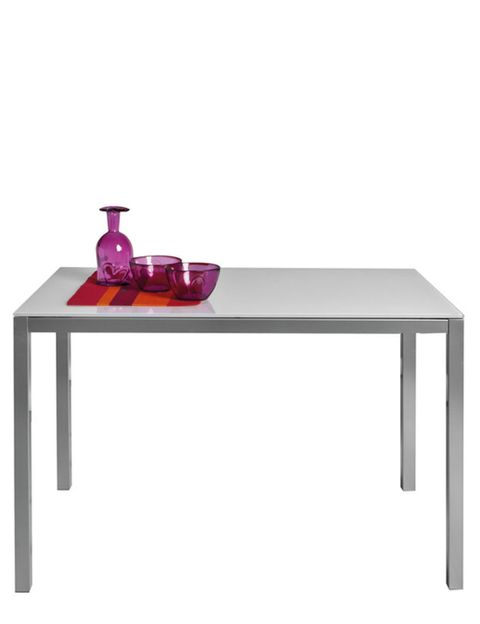 Table, Furniture, Line, Coffee table, Rectangle, Grey, Outdoor furniture, Violet, Square, Outdoor table,