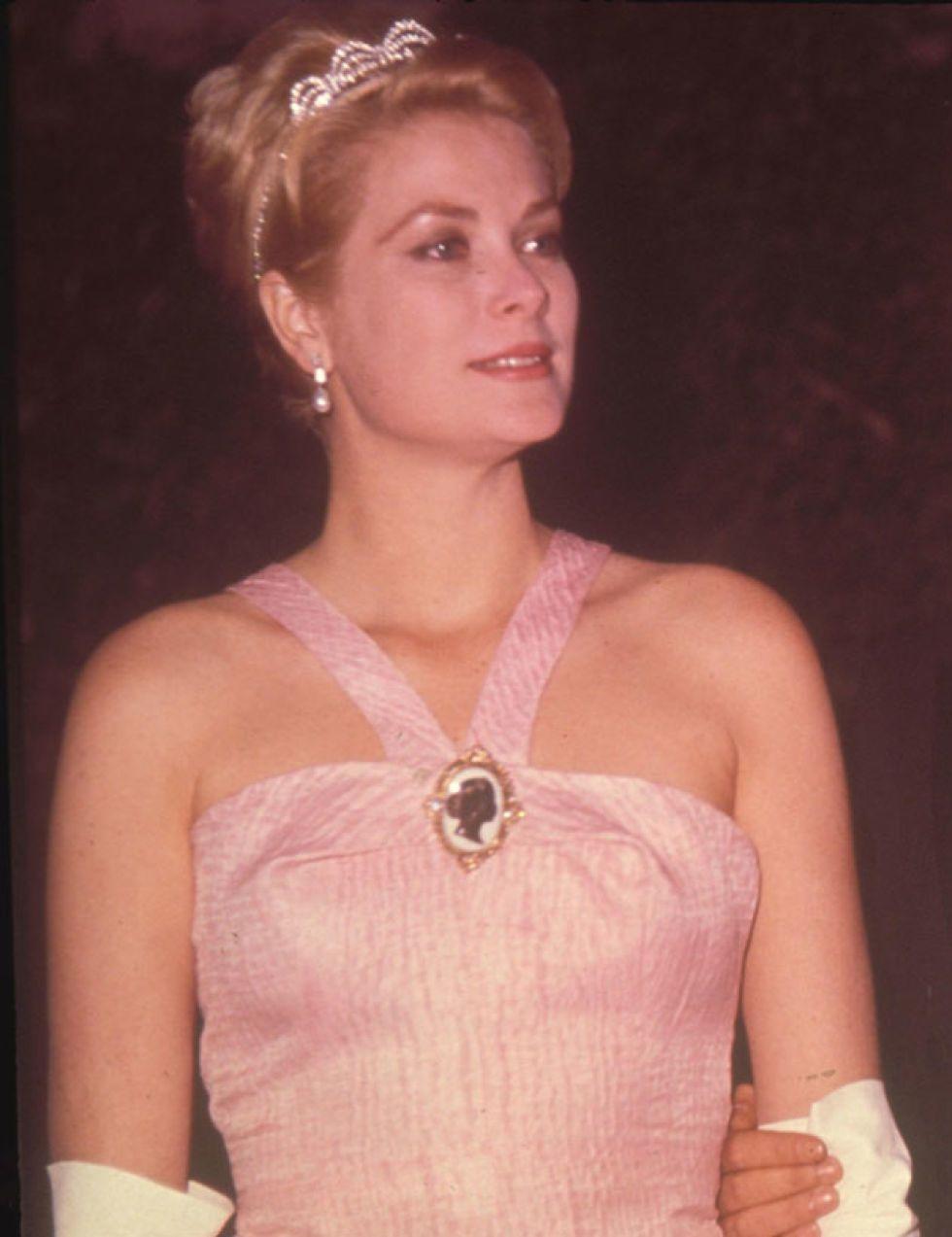 Excelente Vestido De Novia De La Princesa Grace Kelly Ornamento ...