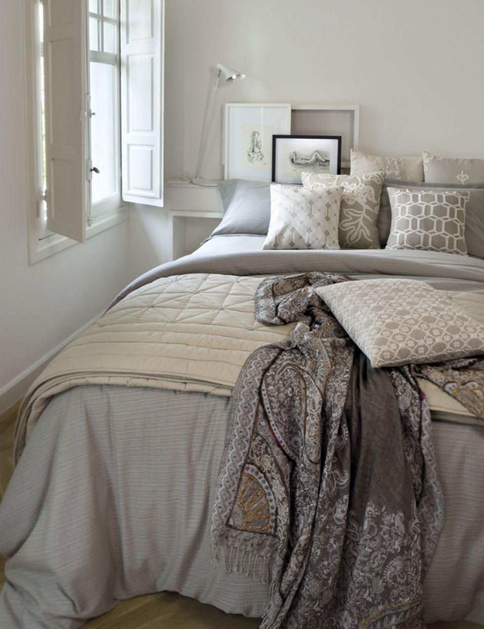 Equipa tu cama con tejidos y colores de otoño