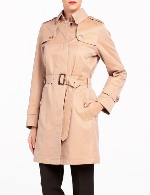 Brown, Collar, Sleeve, Shoulder, Standing, Textile, Joint, Dress shirt, Khaki, Pocket,