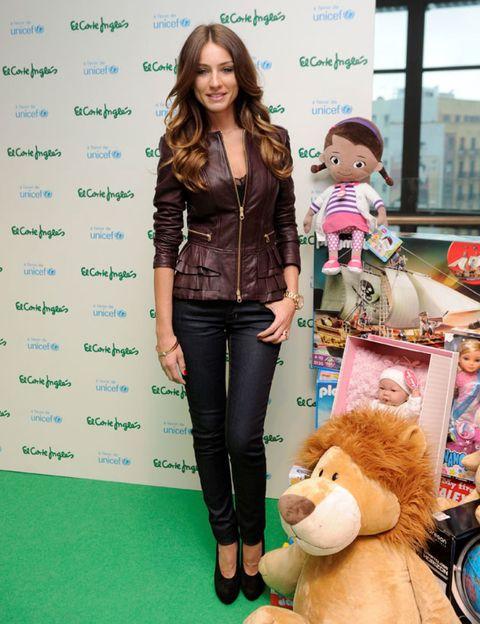 Human, Toy, Textile, Style, Denim, Plush, Stuffed toy, Waist, Bag, Baby toys,