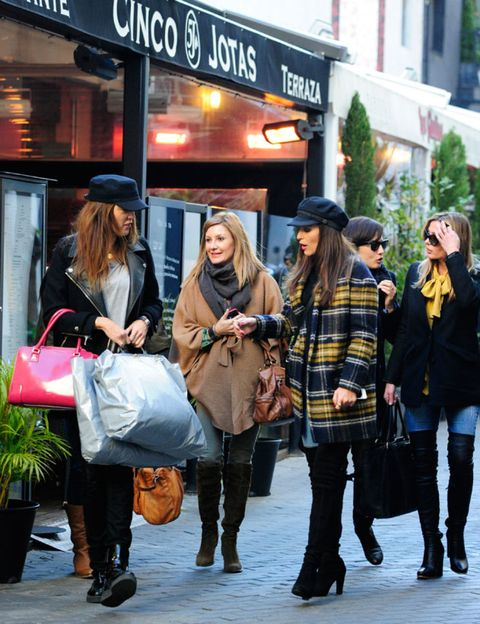 Clothing, Footwear, Leg, Trousers, Textile, Bag, Outerwear, Fashion accessory, Style, Street fashion,