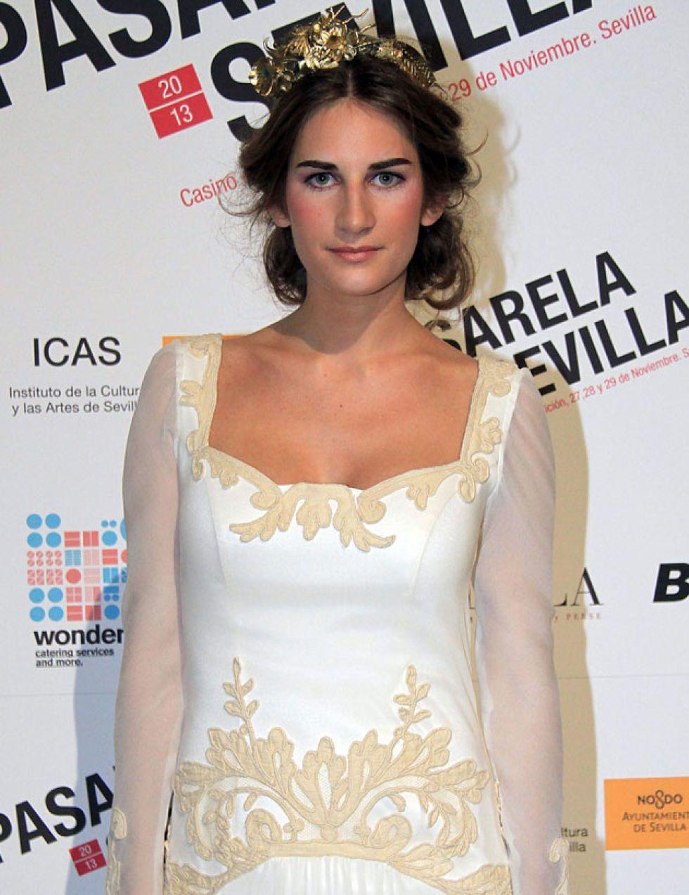 La hermana de Lourdes Montes debuta como modelo y se suma al carro de la fama