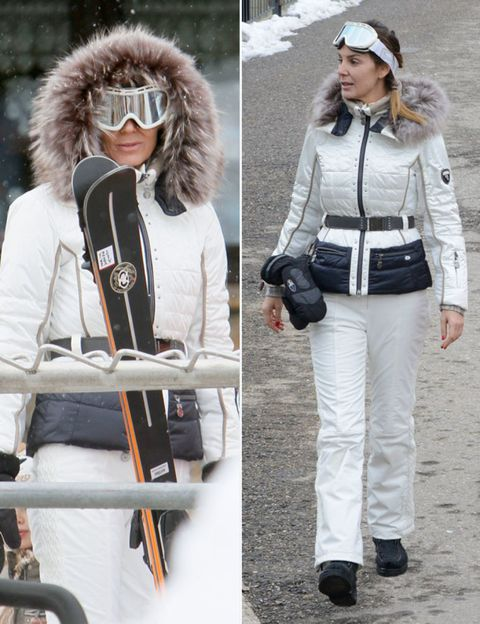 Clothing, Winter, Textile, Bag, Outerwear, White, Style, Street fashion, Headgear, Fashion accessory,