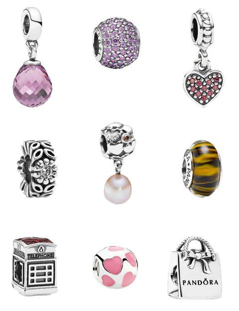 Pink, Magenta, Purple, Fashion, Violet, Lavender, Natural material, Ball, Earrings, Design,