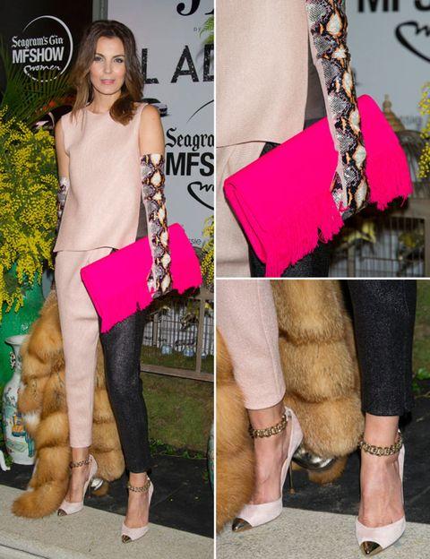 Footwear, Leg, Textile, Fashion accessory, Style, Bag, Fashion, Sandal, Foot, Pattern,