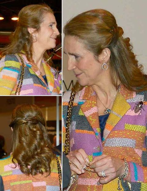 Hair, Head, Nose, Ear, Hairstyle, Chin, Style, Fashion accessory, Eyelash, Organ,