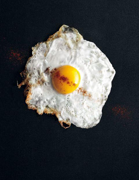 Egg yolk, Egg white, Food, Fried egg, Ingredient, Breakfast, Meal, Egg, Poached egg, Astronomical object,