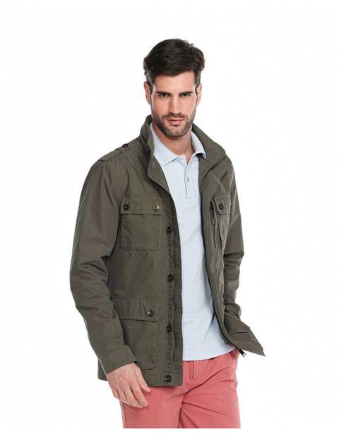 Jacket, Collar, Sleeve, Shoulder, Textile, Shirt, Pocket, Standing, Joint, Style,