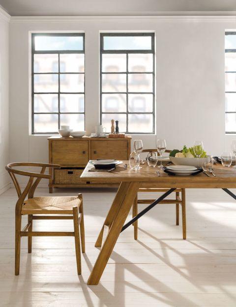 Wood, Window, Room, Table, Interior design, Furniture, Fixture, Daylighting, Hardwood, Writing desk,