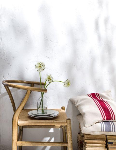 Furniture, Pillow, End table, Home accessories, Still life photography, Linens, Throw pillow, Vase, Flowerpot, Artifact,