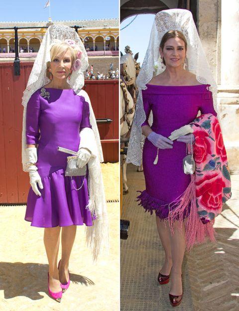 Clothing, Dress, Shoulder, Purple, Pink, Style, Magenta, One-piece garment, Fashion, Day dress,