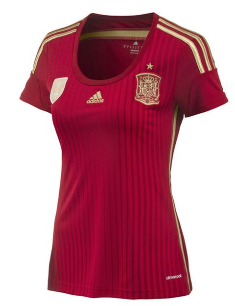 Clothing, Product, Sportswear, Sleeve, Jersey, Red, Magenta, White, T-shirt, Pattern,