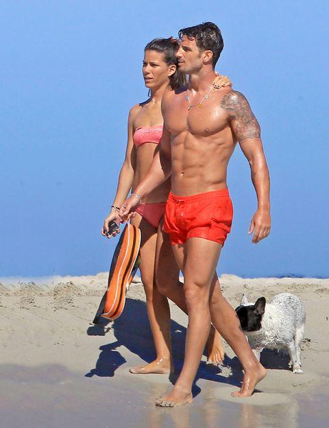 Human, Fun, Human body, Human leg, People on beach, Summer, People in nature, Carnivore, Shorts, Swimwear,