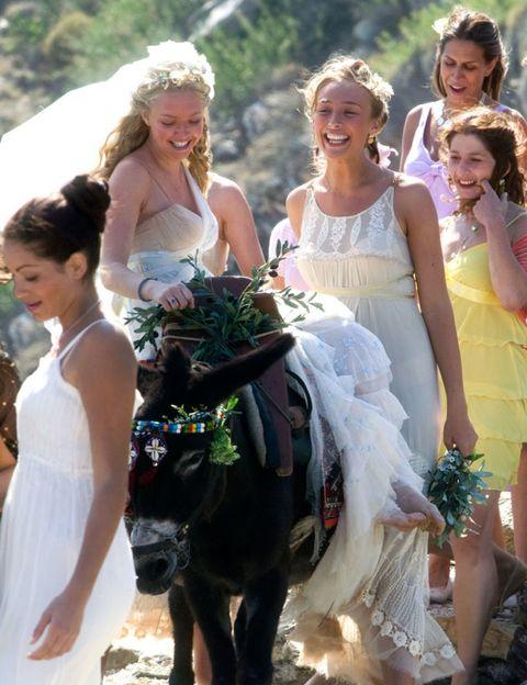 Clothing, Hair, Smile, Dress, Bridal clothing, Photograph, Happy, Bride, Wedding dress, Tradition,