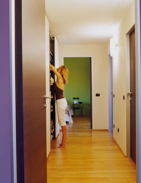 Wood, Floor, Flooring, Human leg, Elbow, Standing, Room, Wood flooring, Hardwood, Laminate flooring,