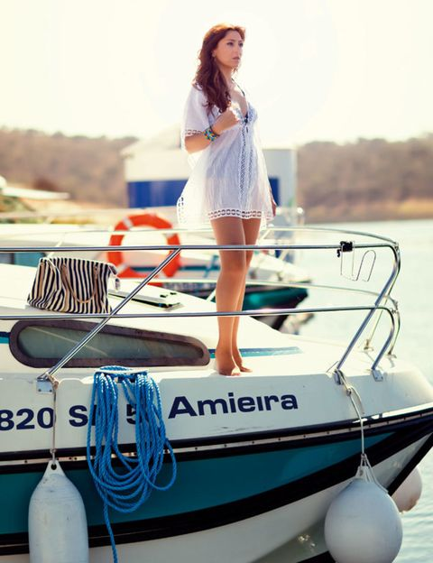 Blue, Transport, Watercraft, Recreation, Boat, Dress, Naval architecture, Ship, Boating, Boats and boating--Equipment and supplies,