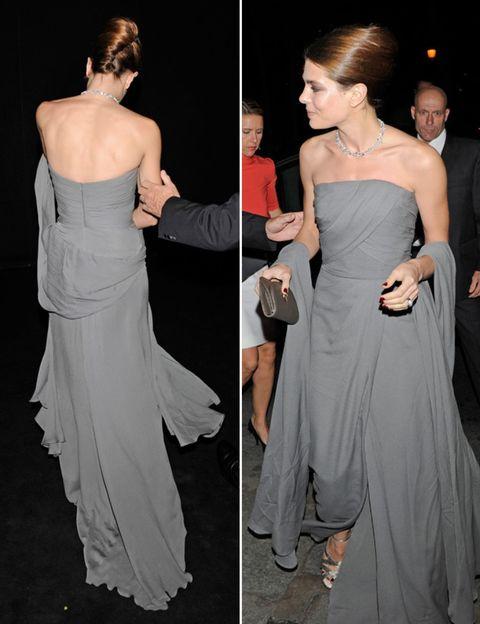 Clothing, Dress, Trousers, Shoulder, Shoe, Joint, Outerwear, Formal wear, Coat, Style,
