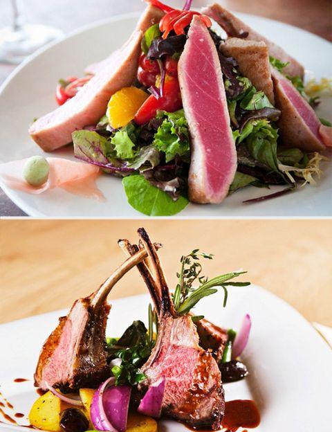Food, Ingredient, Dishware, Meat, Cuisine, Beef, Tableware, Plate, Garnish, Recipe,