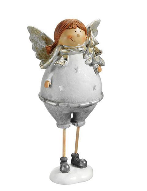 Toy, Angel, Fictional character, Supernatural creature, Doll, Wing, Sculpture, Mythical creature, Animation, Figurine,