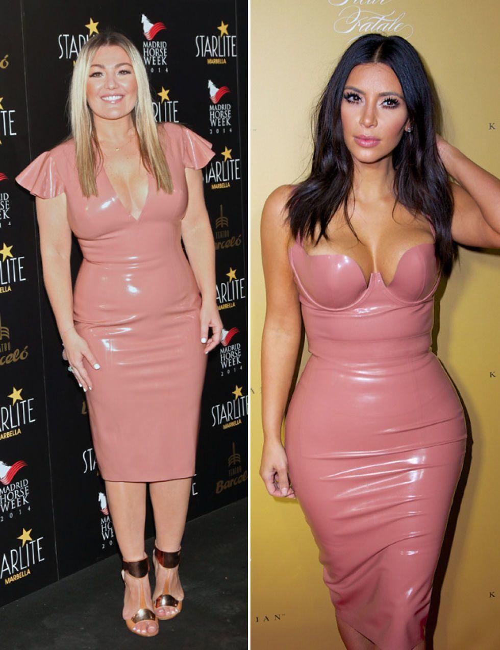 Amaia Montero, a lo Kim Kardashian