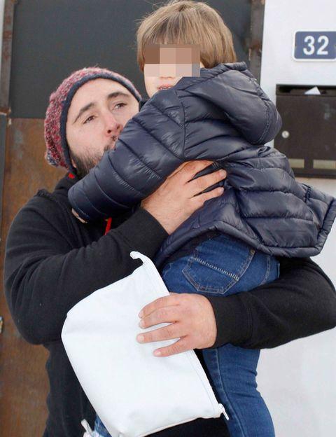 Jacket, Denim, Jeans, Textile, Outerwear, Winter, Interaction, Comfort, Love, Street fashion,