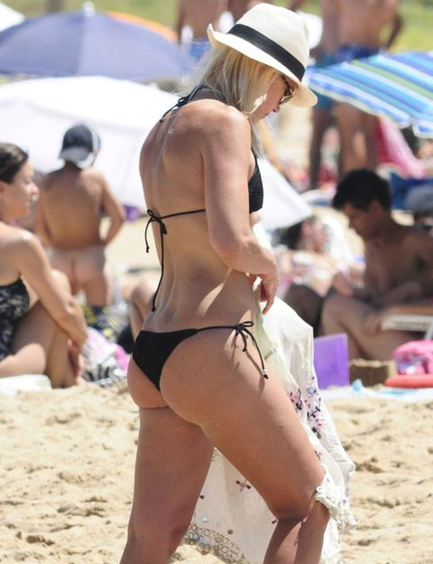 Clothing, Leg, Brassiere, Fun, Hat, Swimwear, Sand, Bikini, Summer, Undergarment,