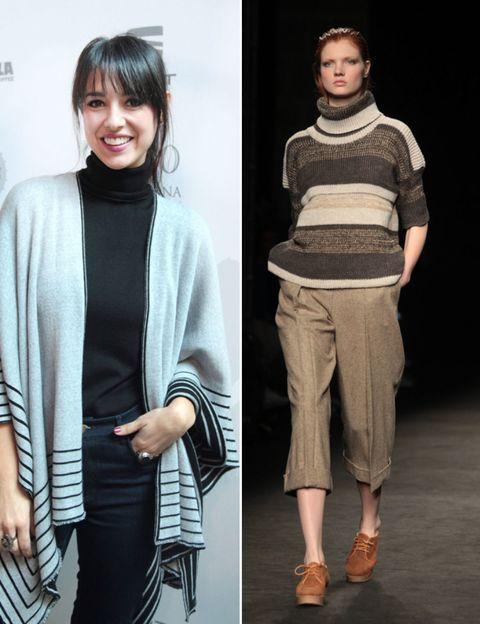 Sleeve, Shoulder, Joint, Style, Collar, Fashion, Street fashion, Black hair, Beige, Fashion model,