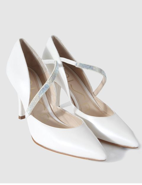 Product, White, Tan, Beige, Natural material, Ivory, Sandal, Dancing shoe, Fashion design, Silver,