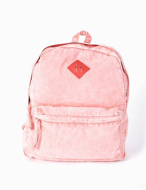 Peach, Luggage and bags, Bag, Baggage, Coquelicot,