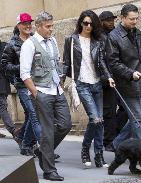 Clothing, Footwear, Leg, Jacket, Trousers, Denim, Carnivore, Textile, Outerwear, Coat,