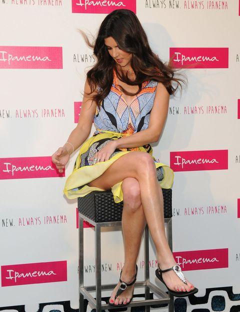Footwear, Leg, Shoe, High heels, Human leg, Style, Sandal, Dress, Knee, Fashion accessory,