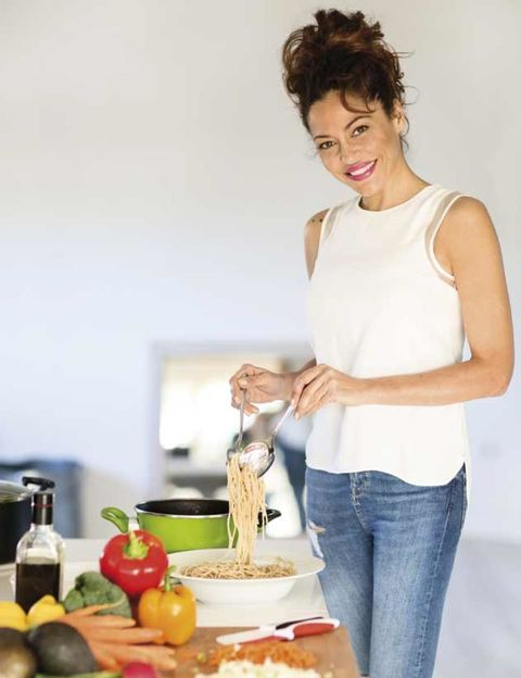 Vegan nutrition, Produce, Food, Denim, Natural foods, Whole food, Ingredient, Elbow, Fruit, Food group,