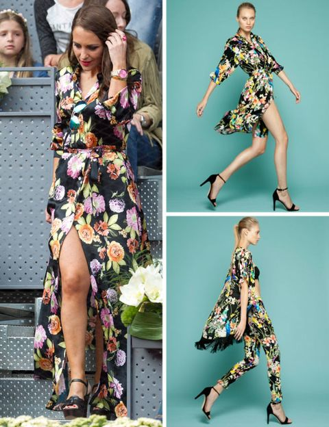 Clothing, Green, Yellow, Sleeve, Pattern, Joint, Style, Dress, Teal, Fashion,