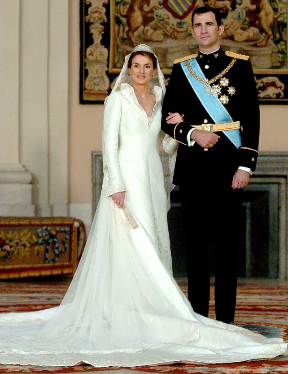 Vestidos de las novias reales