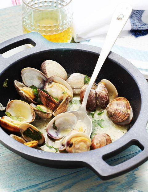 Food, Ingredient, Serveware, Bivalve, Cuisine, Tableware, Dishware, Recipe, Seafood, Dish,