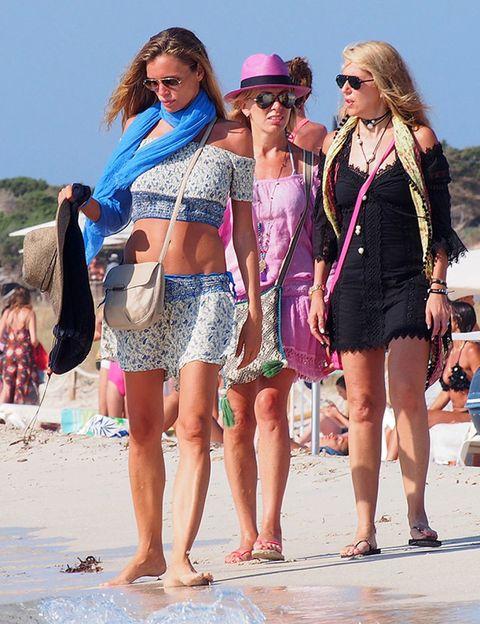 Clothing, Eyewear, Leg, Vision care, Fun, Tourism, Sunglasses, Summer, Hat, Magenta,