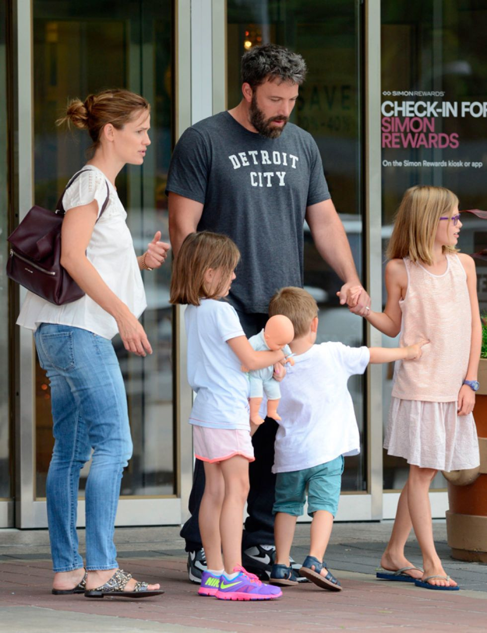 Ben Affleck intenta recuperar a Jennifer Garner a toda costa