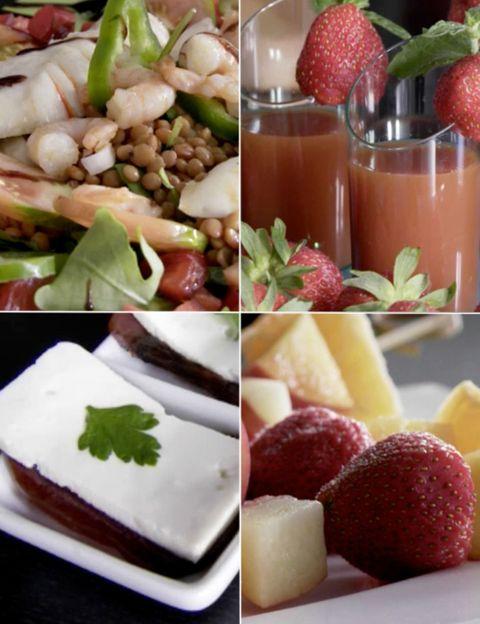 Food, Natural foods, Sweetness, Produce, Fruit, Serveware, Tableware, Dishware, Strawberry, Ingredient,
