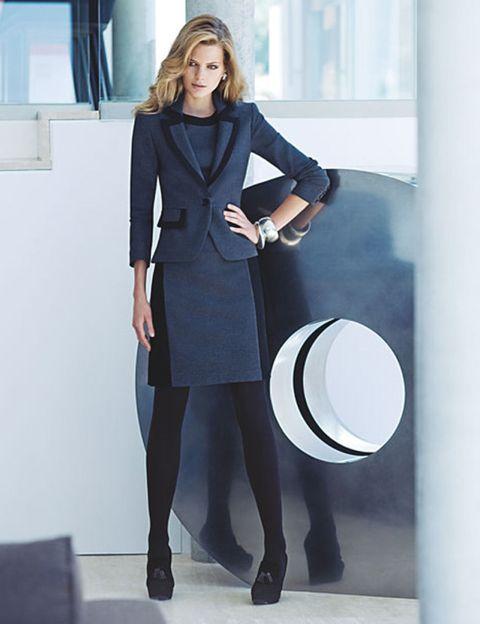 Sleeve, Collar, Shoulder, Standing, Outerwear, Formal wear, Coat, Style, Suit trousers, Blazer,
