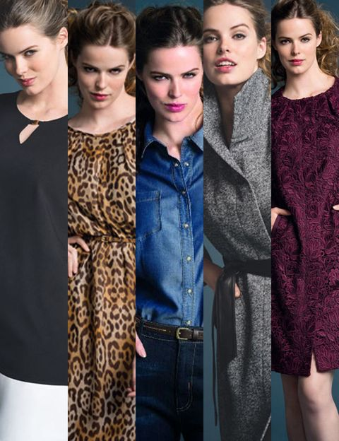 Clothing, Face, Head, Nose, Eye, Hairstyle, Textile, Dress, Outerwear, Denim,