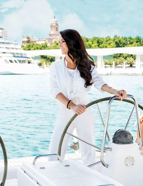 Boat, Watercraft, Summer, Naval architecture, Ship, Luxury yacht, Long hair, Yacht, Water transportation, Marina,
