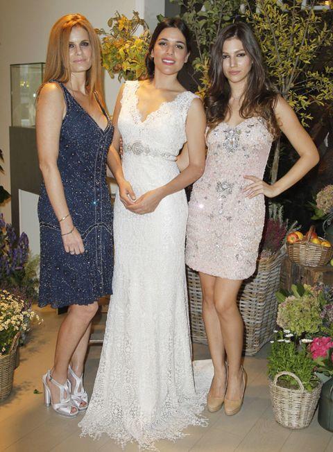 Clothing, Flowerpot, Dress, Trousers, Shoulder, Textile, Joint, Formal wear, Bridal clothing, One-piece garment,