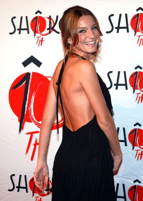 Human body, Shoulder, Red, Dress, Premiere, Style, Fashion, Carmine, Orange, Cocktail dress,