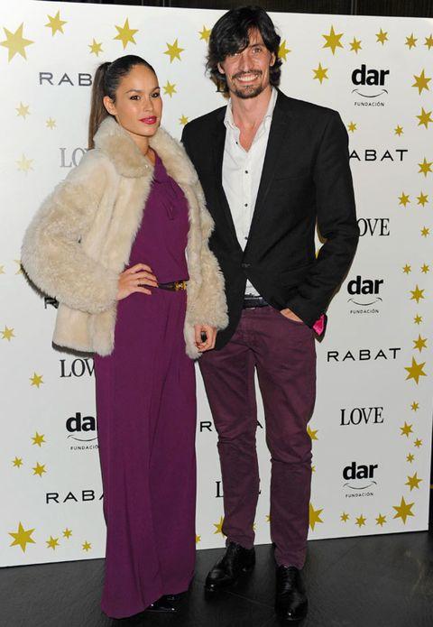 Coat, Trousers, Shirt, Outerwear, Style, Purple, Suit trousers, Dress shirt, Fashion, Blazer,