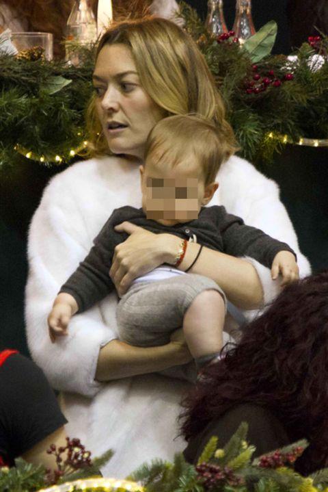 Human, Christmas decoration, Stuffed toy, Holiday, Toy, Plush, Interior design, Christmas tree, Christmas eve, Christmas,