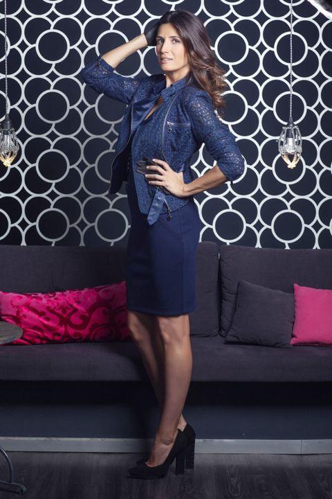 Sleeve, Collar, Couch, Pattern, Style, Blazer, Magenta, Purple, Fashion, Electric blue,