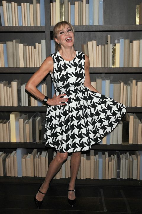 Clothing, Dress, Shelf, Shoulder, Shelving, Publication, Joint, Bookcase, White, Formal wear,