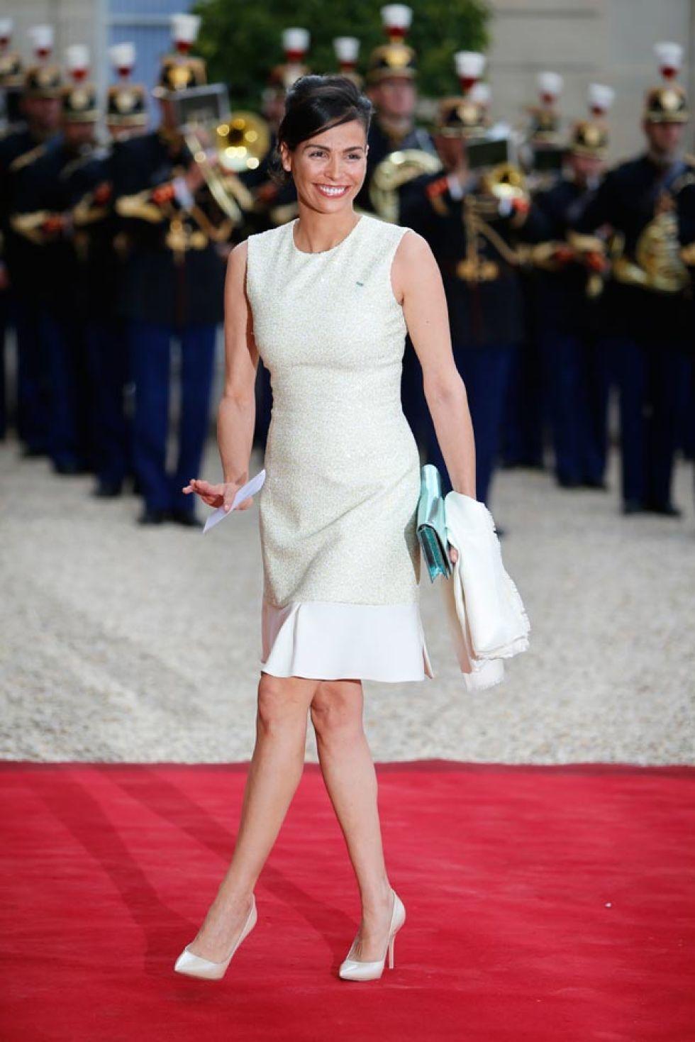 Letizia, única reina en el elegante París